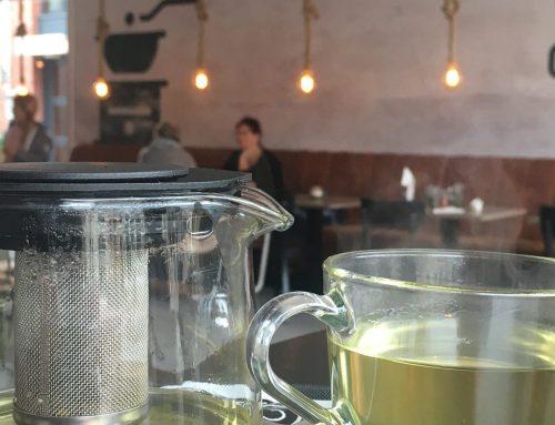 Tea please! Green, just green!