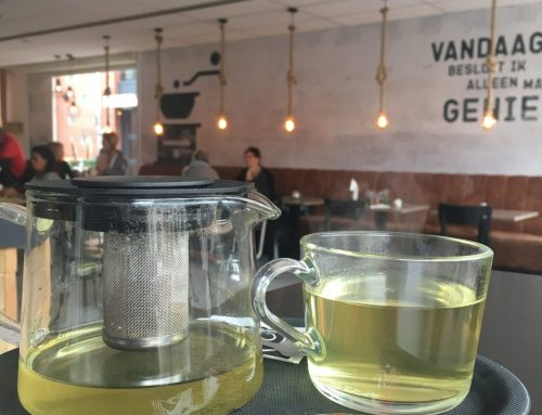 Tea please! Green, just green.