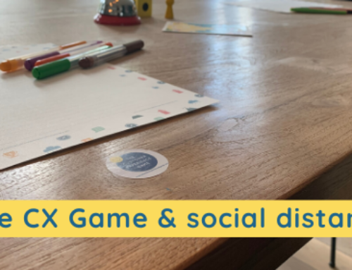 Meet, catch up & action: connection through the CX Game; social distance proof