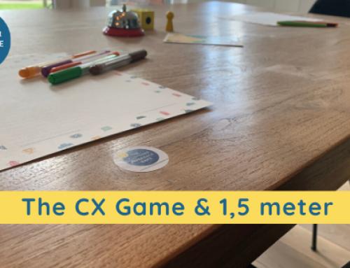 Ontmoeten, bijpraten & actie: verbinding door the CX Game; 1,5meter proof